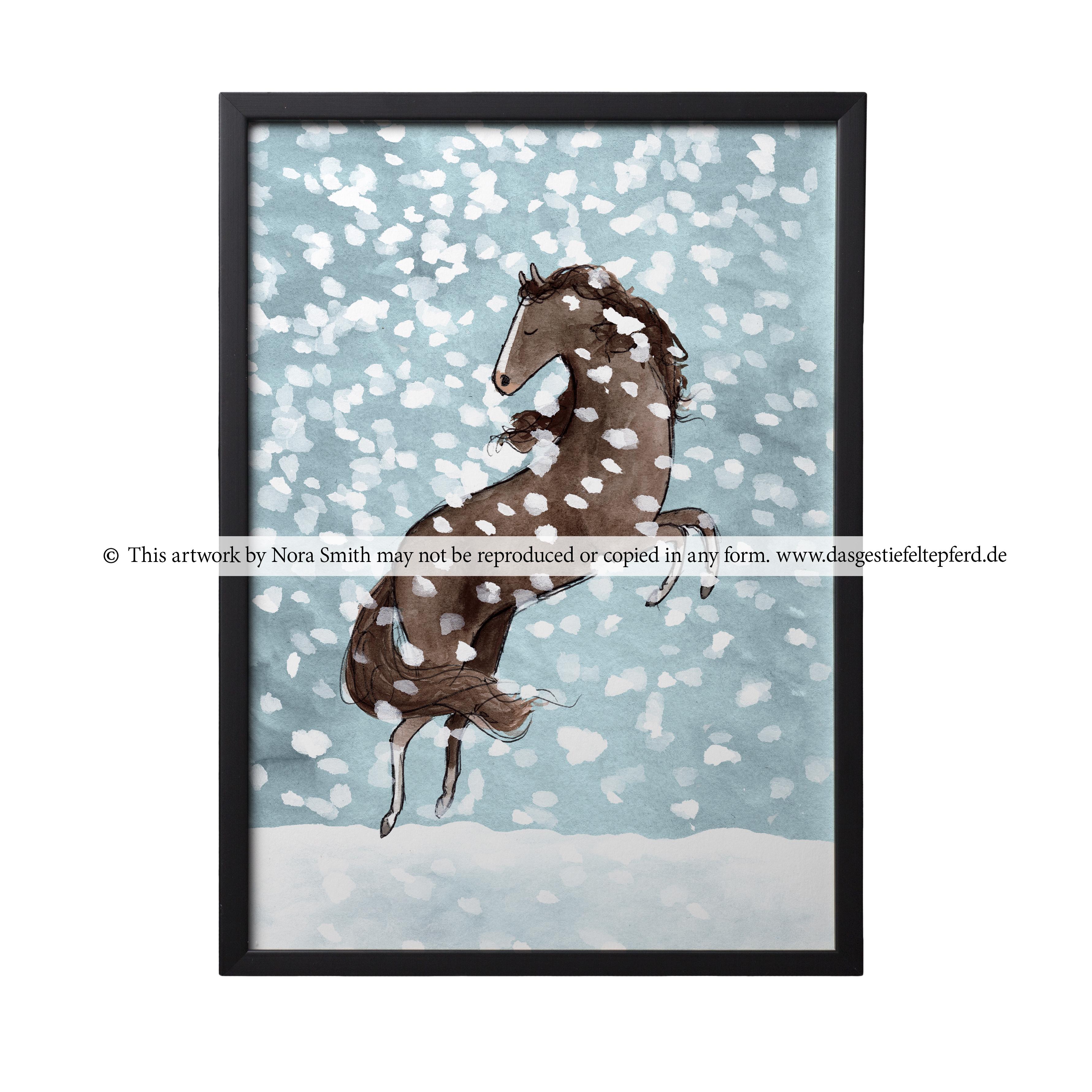 """Kunstdruck """"Schnee"""""""