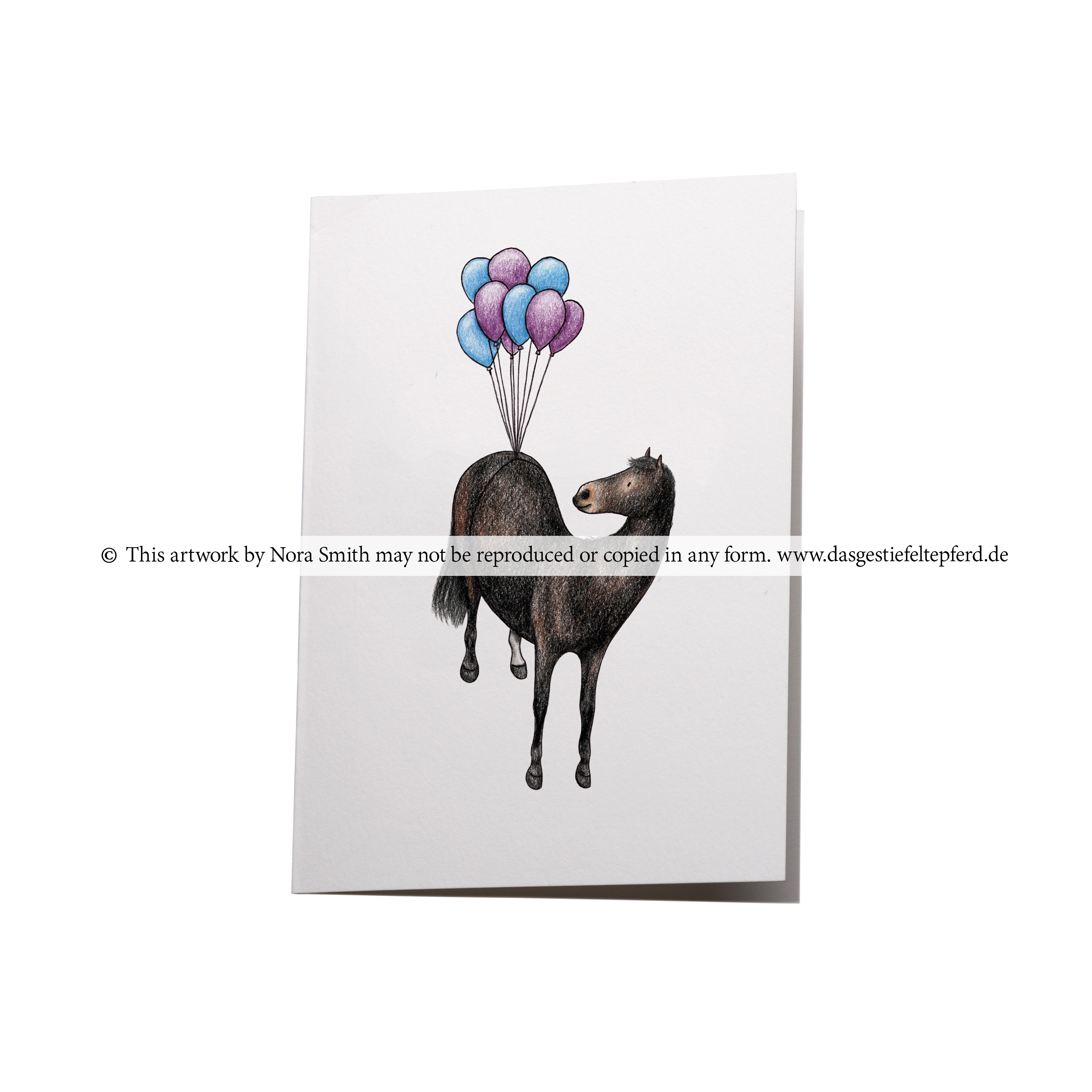 "Klappkarte ""Luftballons"""