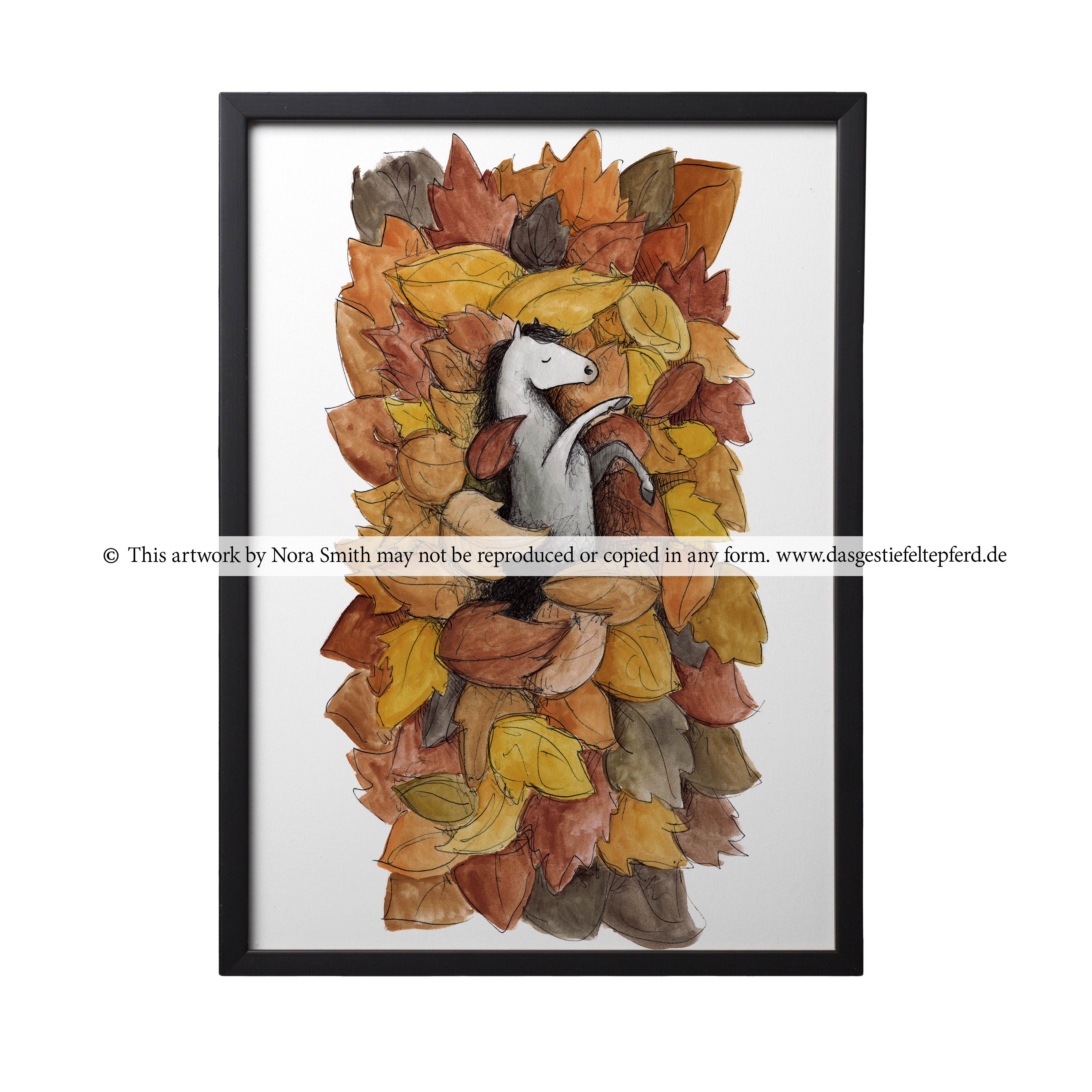 "Kunstdruck ""Herbst"""