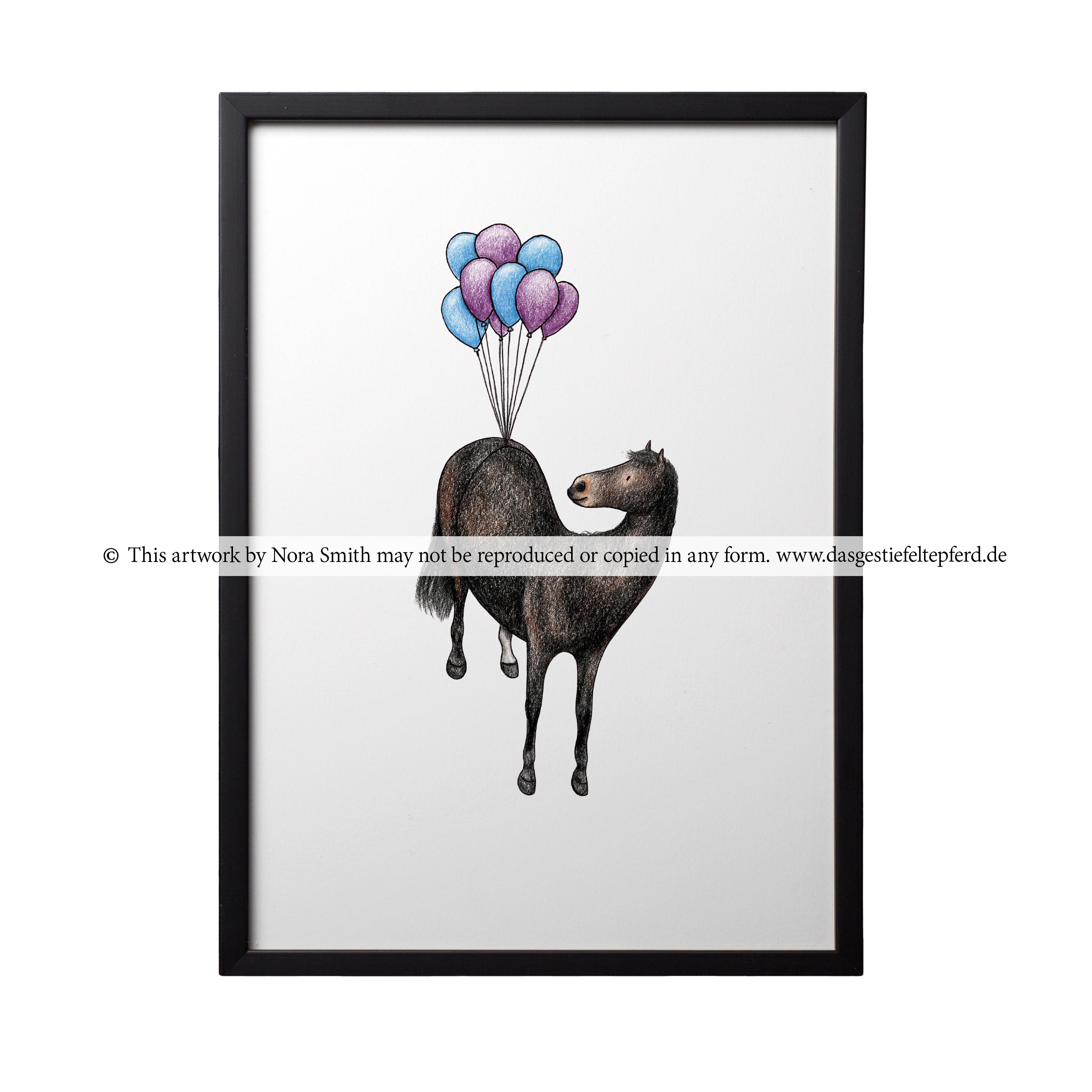 """Kunstdruck """"Luftballons"""""""